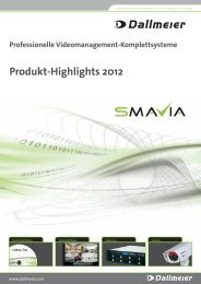 Produkt-Highlights 2012 - DEKOM Video Security & Network GmbH