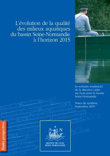 Le document - Agence de l'Eau Seine Normandie
