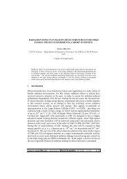 radiation effects in silicon detectors for future - Villa Olmo - Infn
