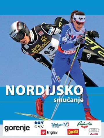 Nordijsko smučanje - Modra kartica