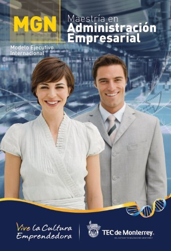 Administración Empresarial - Tecnológico de Monterrey en América ...