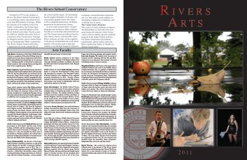 I V E R S The Rivers School Conservatory