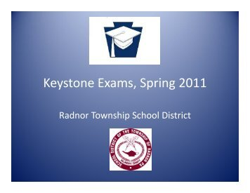 Keystone Exams Spring 2011 Keystone Exams, Spring 2011