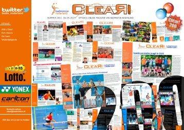Clear! 200 - Badminton Nederland