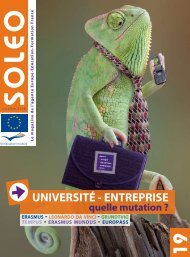 Soleo 19 - Agence Europe-Education-Formation France