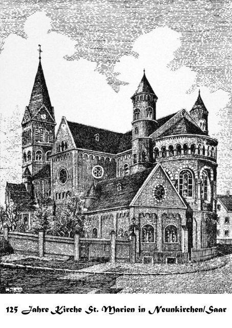 125 Jahre Kirche St. Marien in Neunkirchen/Saar - Kath ...