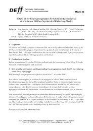 Referat af møde 22 i AM - DEFF
