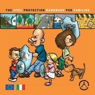the civil protection handbook for families - Dipartimento della ...
