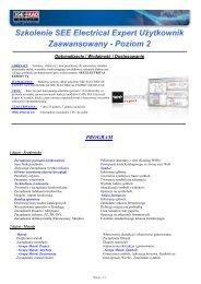SEE Electrical Expert Użytkownik Zaawansowany - Ige-xao.com