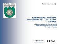 tukuma novada attīstības programmas 2011. – 2017. gadam izstrāde