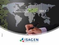 Estados financieros NIIF 2011 ISAGEN S.A. E.S.P.