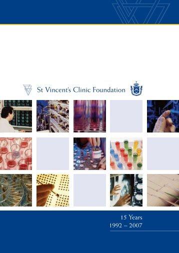 St Vincent's Clinic Foundation - St Vincents Clinic
