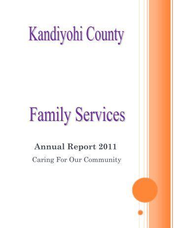 Annual Report 2011 - Kandiyohi County, Minnesota