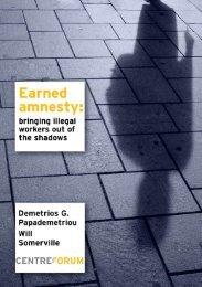 Earned amnesty: - CentreForum