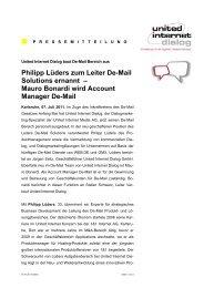 Philipp Lüders zum Leiter De-Mail Solutions ernannt – Mauro - BVDW