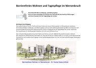 Barrierefreies Wohnen und Tagespflege im Niersenbruch