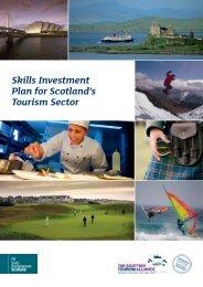 Tourism sector Skills Investment Plan - Skills Development Scotland