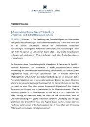 2. Unternehmer-Salon Baden-Württemberg – Überlebens- und ...