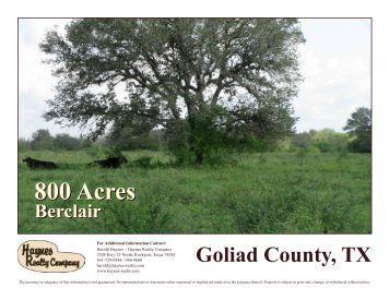 800 Acres 800 Acres - Haynes Realty