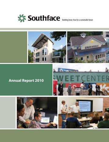 Annual Report 2010 - Southface