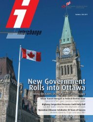 New Government Rolls into Ottawa - Railway Association of Canada