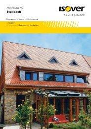 Steildach-Broschüre für Bauherren - Isover