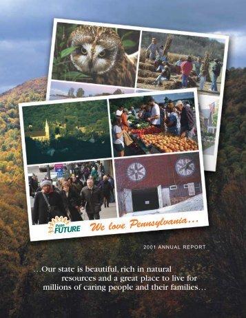 2001 Annual Report - PennFuture