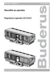 Navodila regulator R4321 - Buderus