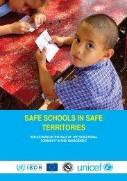 SAFE SCHOOLS IN SAFE TERRITORIES - INEE Toolkit
