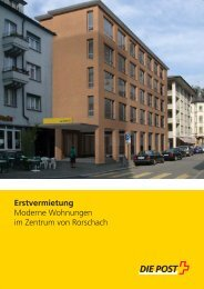 Flyer Neue post rorschach - Immobilien (PDF)