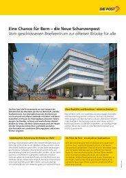 Eine Chance für Bern – die Neue Schanzenpost Vom ...