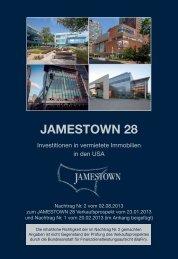 Nachtrag Nr. 2 vom 02.08.2013 - Jamestown