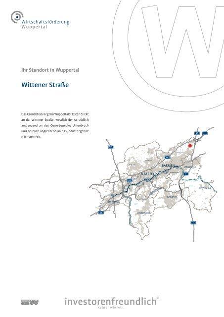 Wittener Straße - Wirtschaftsförderung Wuppertal