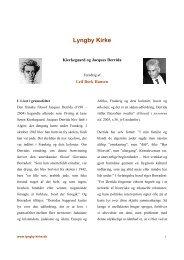 Kierkegaard og Jacques Derrida - Lyngby Kirke