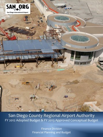 (FY12) Conceptual Budget - San Diego International Airport