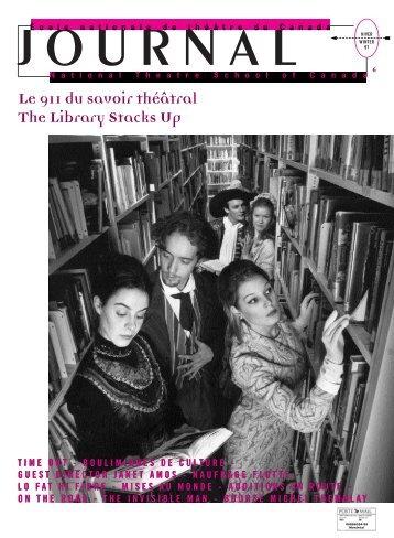 Fichier PDF (590Ko) - École nationale de théâtre