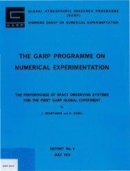 GARP 1974-6 - E-Library - WMO