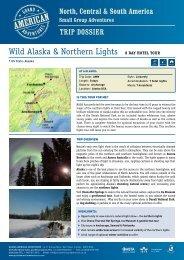 Wild Alaska & Northern Lights 8 DAy Hotel tour - Adventure holidays