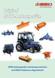 ISEKI-Anbaugeräte