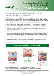 EDIM-Technologie - biovis´ Diagnostik MVZ GmbH