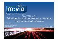 Presentación del proyecto m:Vía - Telefónica I+D