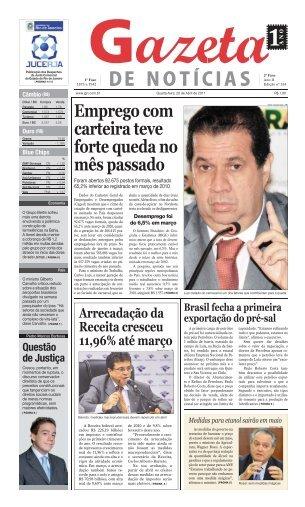 Emprego com carteira teve forte queda no mês passado - Jgn.com.br