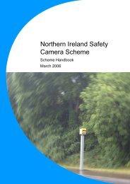 Safety camera scheme handbook - Police Service of Northern Ireland
