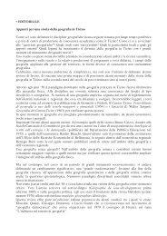 • EDITORIALE Appunti per una storia della geografia in ... - Gea Ticino