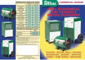 to download the products datasheet - P&M Coppack Air Conditioning