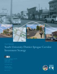 South University District-Sprague Corridor Investment Strategy