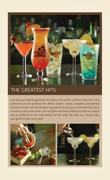 download the drink menu - Hard Rock Cafe - Oslo