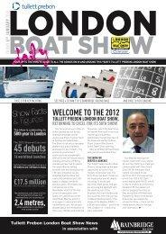 45 debuts - London Boat Show