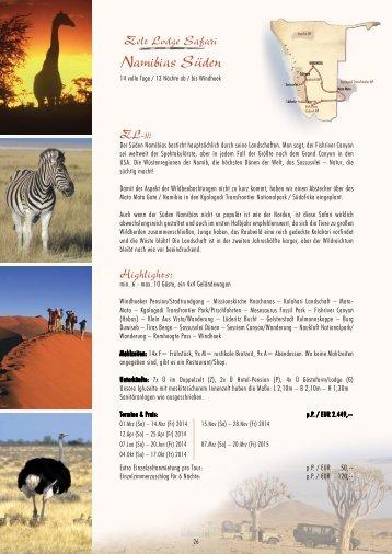 Namibias Süden - Outdoor Adventure