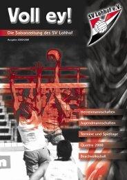 Voll ey! 2000 (PDF, 3 MB) - SV Lohhof